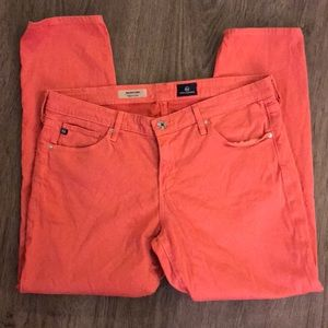 AG Adriano Goldschmied Coral crop Jeans Sz 32